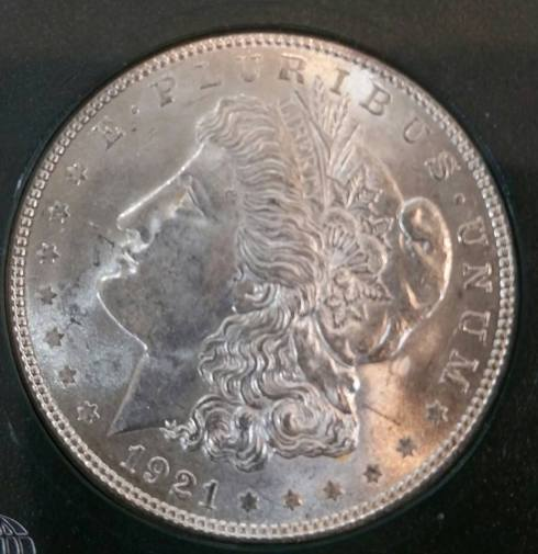 1921 Uncirculated Morgan Silver Dollars $39 Each