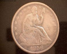 1856 Seated Liberty